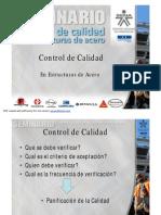SEMINARIO-CONTROL DE CALIDAD DE ESTRUCTURAS DE ACERO - ING_ JEYSON RAMIREZ.pdf