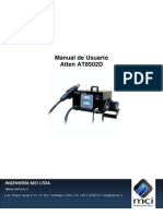 Manual de Usuario Atten AT8502D
