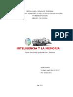 Inteligencia y La Memoria