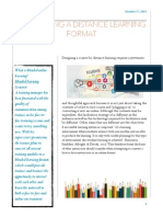 converting blended learning format