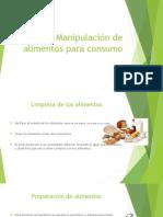 Manipulacion de Alimentos Para Consumo-completar
