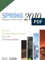 Spring Brochure 2010 Web
