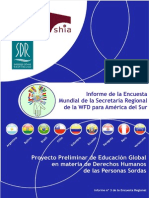 3. RSSA Regional Survey Report No 3 Spanish Version