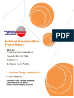Nuclear Energy in Malaysia