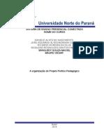 organizaçao do projeto politico pedagogico