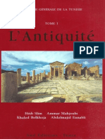 Histoire Generale de La Tunisie_t1