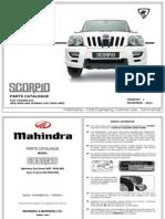 Mahindra Scorpio Catalogo de Partes