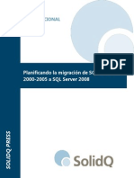Migración SQL Server 2000-2005 2008