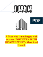 A Man Who is Not Happy With Any One, Not Even His Wife - Zaid Hamid