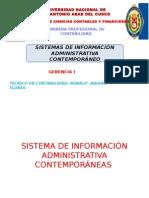 Sistema de Información Administrativa Contemporáneas