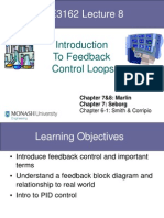 CHE3162.Lecture8 Feedback PID