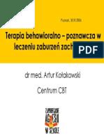 A. Kolakowski - Terapia Poznawczo-behawioralna w Leczeniu Zaburzen Zachowania
