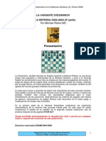 Edami - Defensa Siciliana - Variante Pelikan II - Michal Rahal-Ajedrez