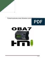 Benutzerhandbuch Zur Fernsteuerung Eines Siemens Logo! Gerätes