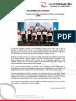 Reconocimiento de La Onu a Audit Juve
