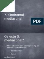 Sindromul mediastinal