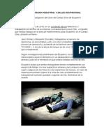 Charlas de Seguridad Industrial y Salud Ocupacional