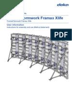 DOKA - Circular Formwork Framax Xlife - May 2013