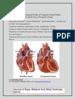 Clinical and Etiological Profile of Congestive Heart Failure