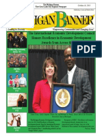 The Michigan Banner October 16 2015 Edition