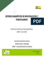 Presentación Infección de Piel y Tejidos Blandos