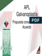 galvanoplastia norma chilena