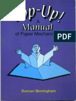Pop Up - A Manual of Paper Mechanisms