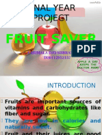 Fruit Saver Presentation
