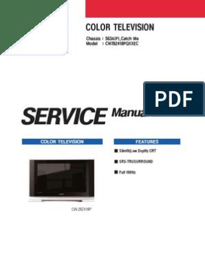 samsung_s63a_catch_me_chassis_cw29z418pqxxec pdf | Hdmi | Cathode