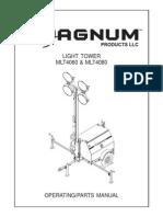 Magnum Manual Mlt4000