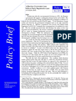 100311 VDI PB3 Election Commission Law a Political Analysis