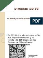 El Movimiento ¡30-30!