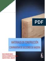 1 2 Comparativas Secciones Madera v1 Presentacion