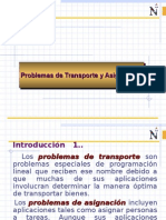 ejercicios asignacion transporte.ppt