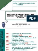 Legislacion Ambiental de Residuos Solidos