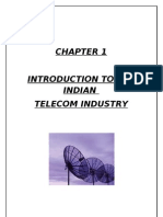 comparative financial analysis of telecom companies in india
