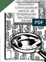 Manual de Investigacão em Ciencias Sociais