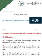 Chapitre 4 Organisation Et Fonctionnement Du MarchÃ_ Des Changes PDF