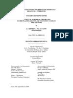 Decision Sobre Competencia Occidental Petroleum Ecuador