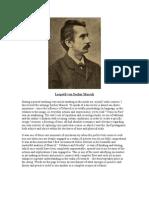 Leopold Von Sacher Masoch