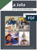 La Jolla Community and School Information