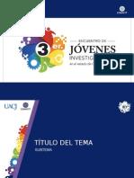 Templete UACJ-3er Encuentro