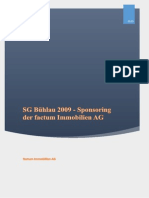 Sponsoring factum Immobilien AG