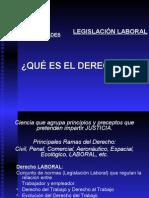 Curso Legislación Laboral Peruana