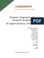 Epidemiología, Region de Arica y Parinacota