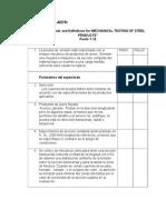 Astm 370 Lista de procedimiento