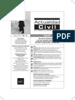 Revista Actualidad Civil MAYO