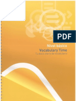 Vocabulario Time (Básico)