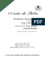 El Nino de Belen Cantata Navidena