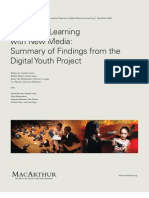 PP_Living and Learning With New Media, Summary of Findings From the Digital Youth Project_The John D. and Catherine T. MacArthur Foundation Reports on Digital Media and Learning_58